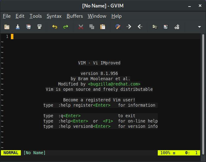 dnf info vim-enhanced