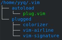 vim-plug Directory Tree